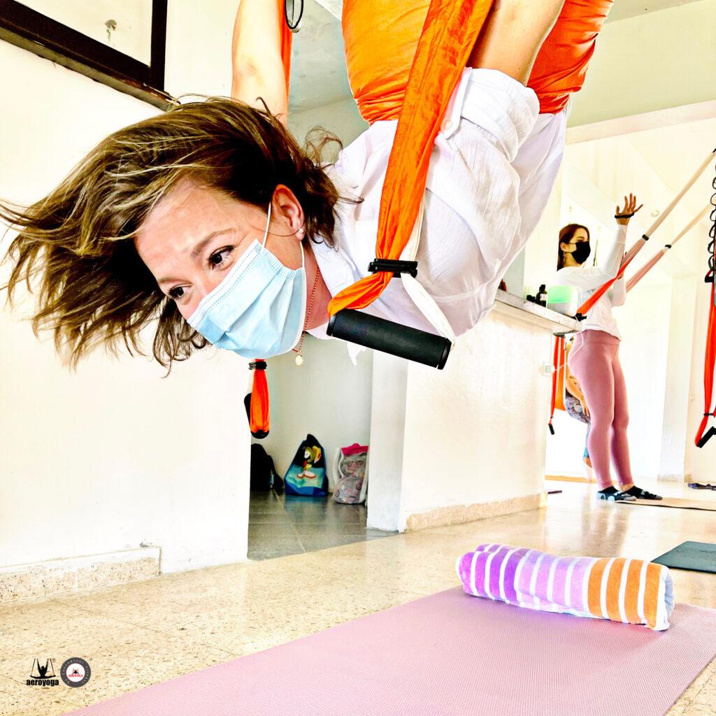 acro yoga aéreo clases
