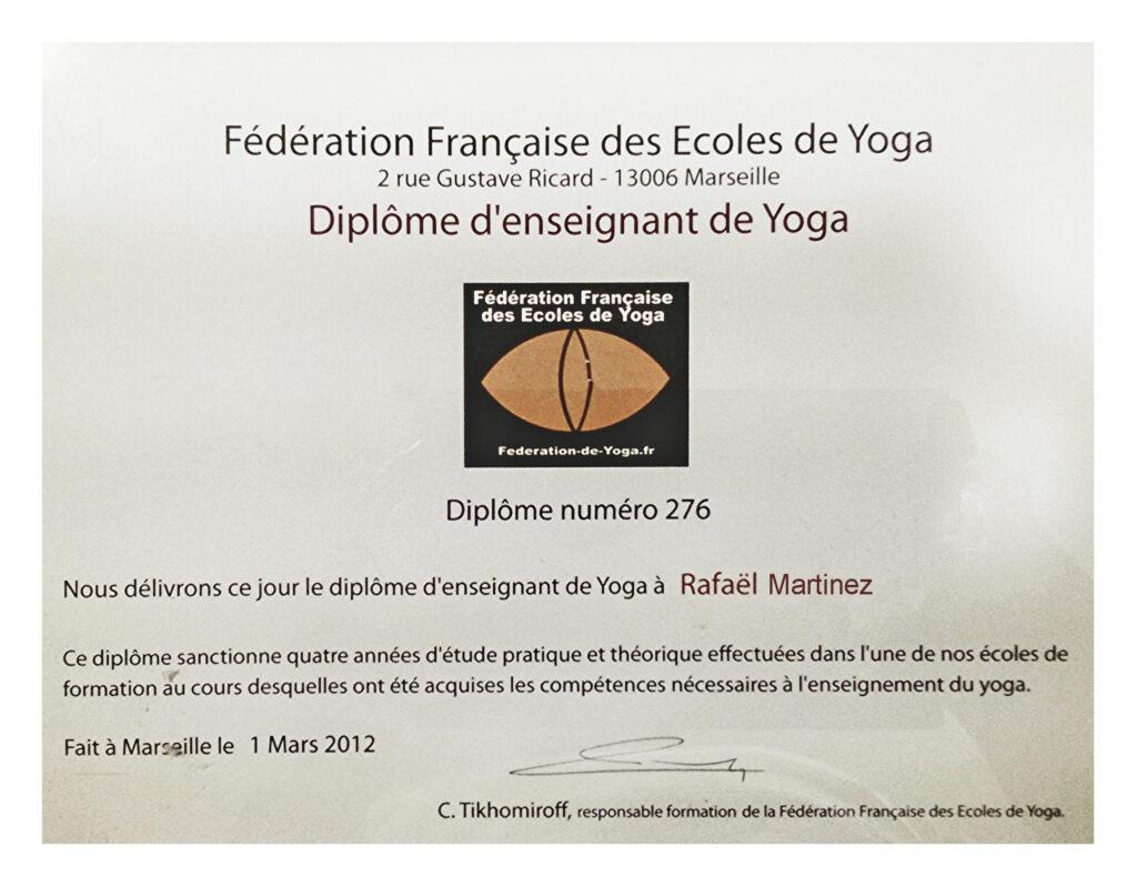 diploma natha yoga