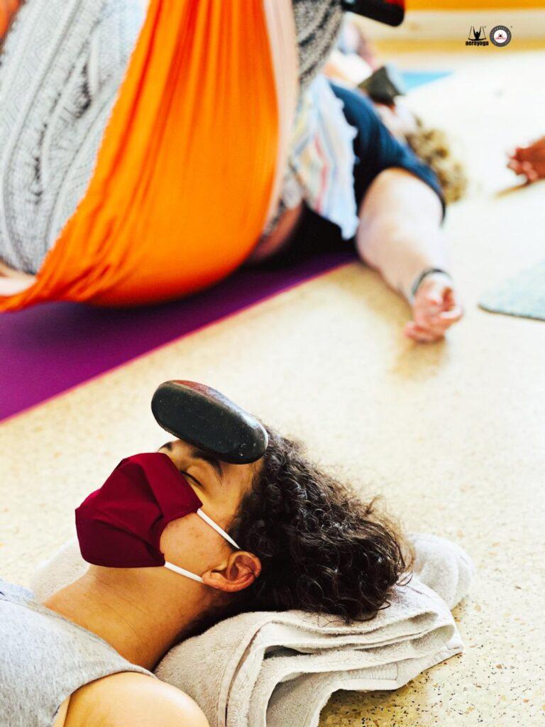 relajación yoga