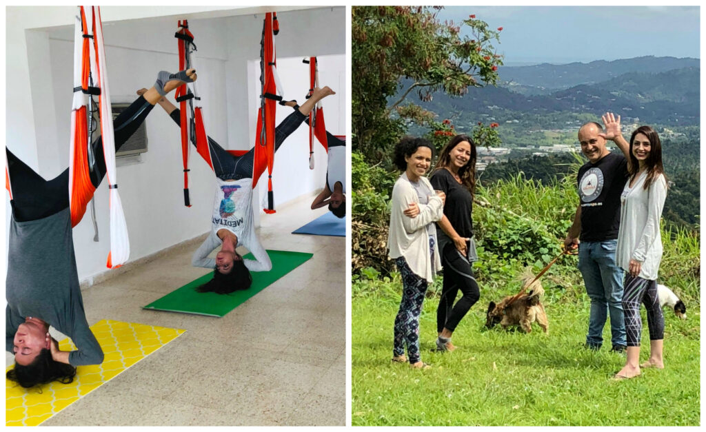 yoga creativo aeroyoga yoga aéreo puerto rico