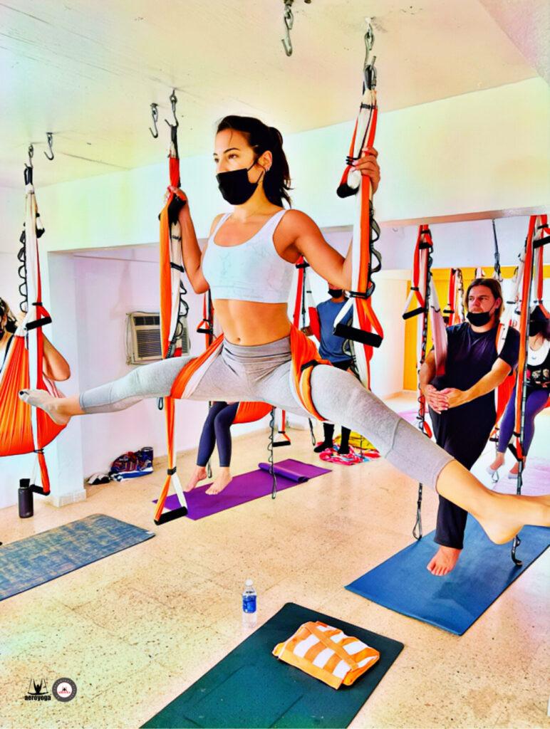 acro yoga aéreo