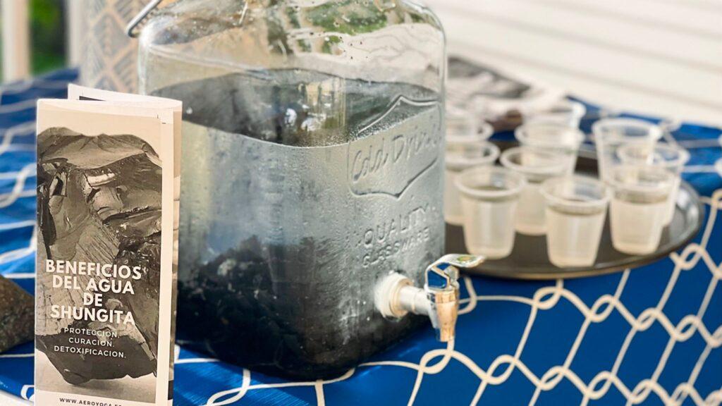 beneficios agua shungita